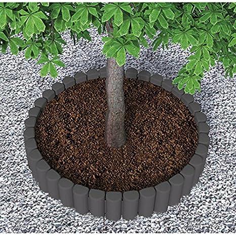 Bordure Per Giardino.Bama Bordura Modulare Per Giardini Blok Color Tortora
