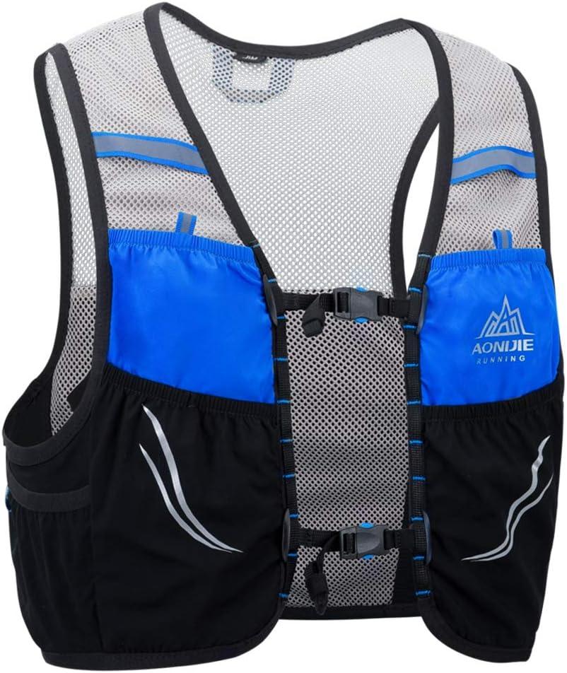 Lixada Chaleco de Correr Mochila de Hidratación Malla Respirable para Ciclismo Maratón Escalada al Aire Libre