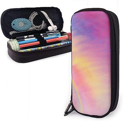Estuche para lápices de colores brillantes con plumas para niños y niñas, estuche grande para lápices para estudiantes, universidad, suministros escolares y oficina: Amazon.es: Oficina y papelería