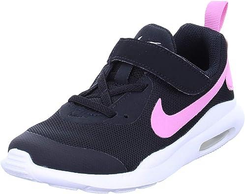 Nike Air MAX OKETO (PSV), Zapatillas de Running para Niñas, Multicolor (Black/Psychic Pink/White 000), 33 EU: Amazon.es: Zapatos y complementos