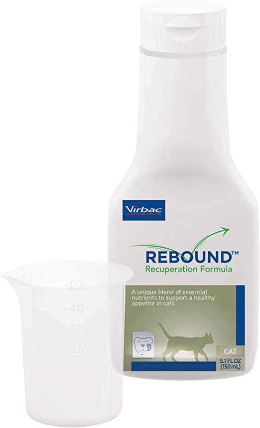 Virbac Rebound Recuperation Formula for Cats, Clear (10851)