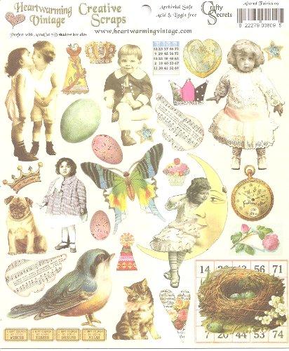 Fanciful Hat Pins (Crafty Secrets Publications Heartwarming Vintage Creative Scraps Altered)