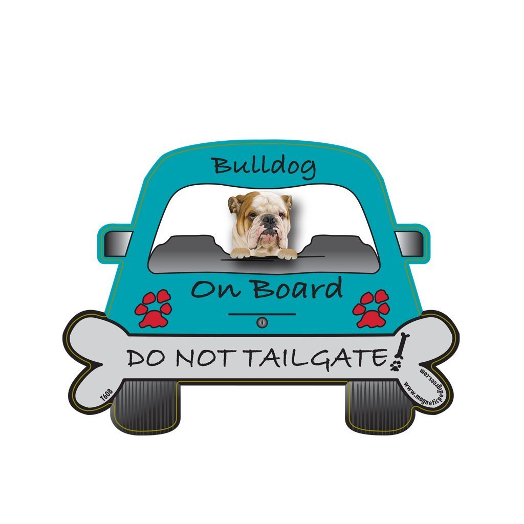 Amazon.com: Airedale Dog On Board - Do Not Tailgate Car Magnet ...