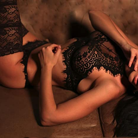 Amazon.com: Tsmile Hot Sale❤ /Women Sexy Lingerie/✿Clearance {Camisole Underwear Set} Bra Pants {Lace} Flowers Push Up Tops: Clothing