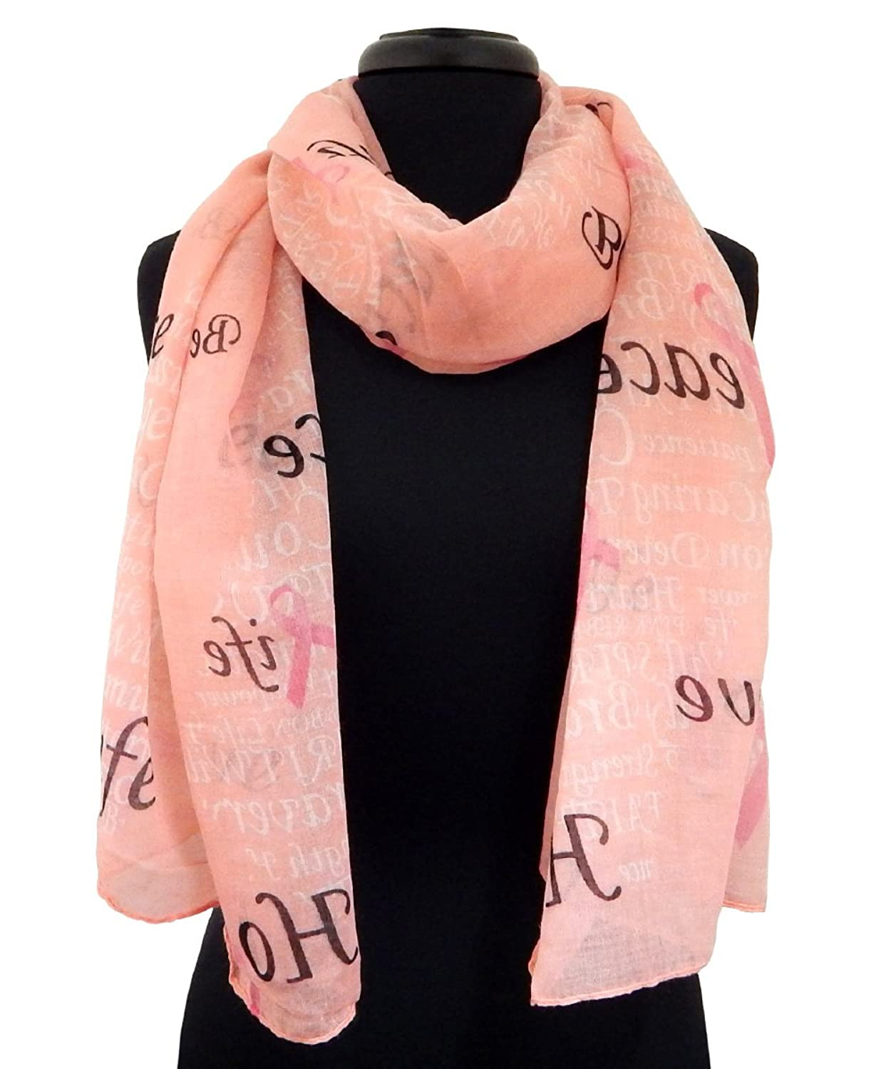Alabama Girl Breast Cancer Scarf in Pink