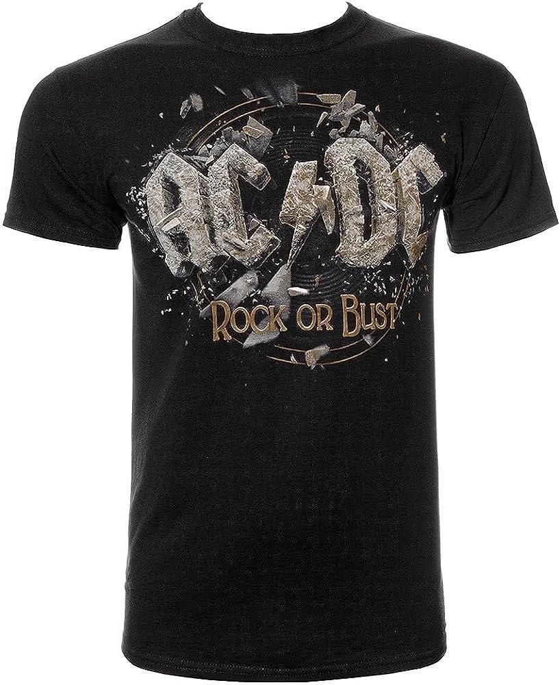 ACDC o de producto oficial de Rock pecho camiseta para hombre de Metal pesado...: Amazon.es: Ropa y accesorios