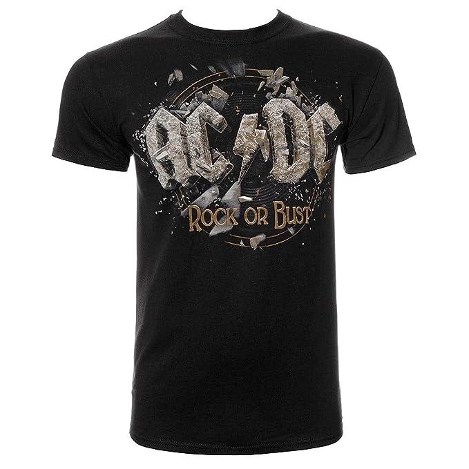 De Acdc Busto Metal Heavy Oficial Tees Or Revolution Rock Tee PkiXOZu