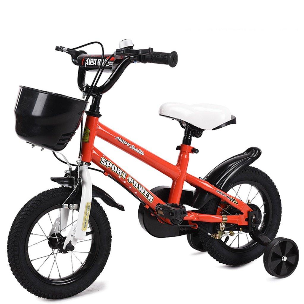 美しい 家チャイルドフォールド自転車3-6-8歳のベビーベビーカー12インチ14インチ16インチ18インチバイク (色 : 赤, サイズ さいず : 16Inch) B07CXZCY61 16Inch|赤 赤 16Inch