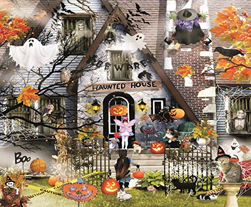 SunsOut Haunted House - Halloween Themed Puzzle - 1000 pc Jigsaw Puzzle
