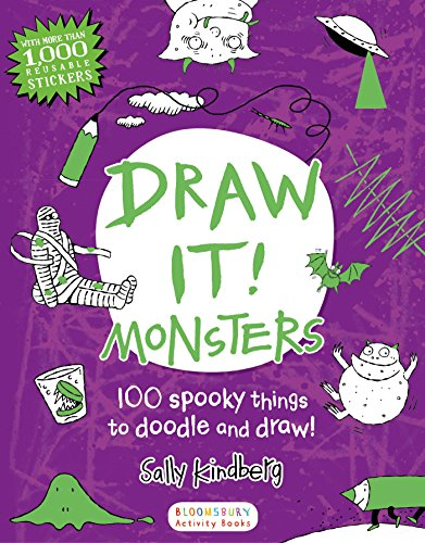 Draw It! Monsters: 100 spooky things to doodle and draw! -