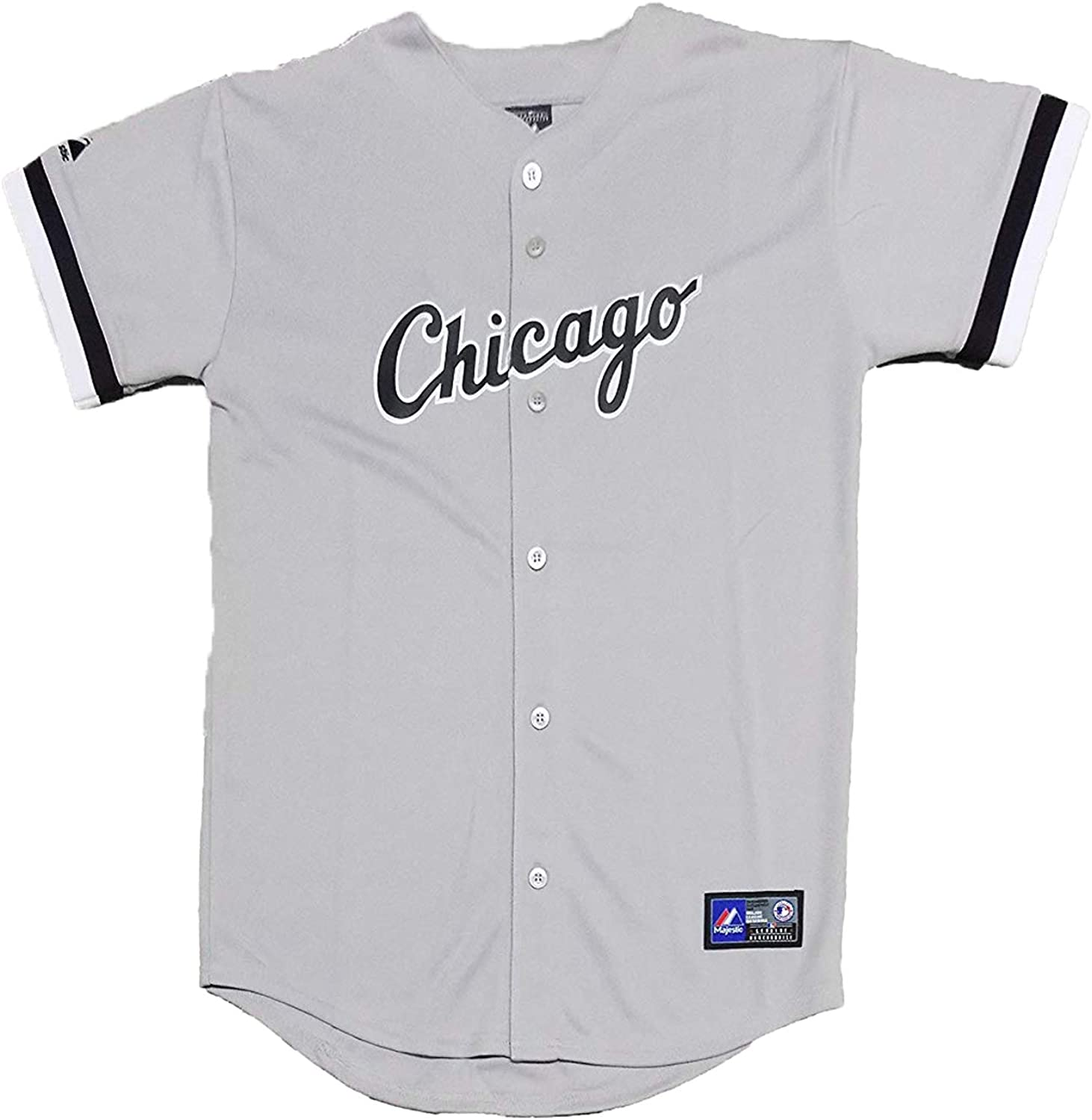 Gordon Beckham Chicago White Sox Gray Youth Authentic Road Replica Jersey