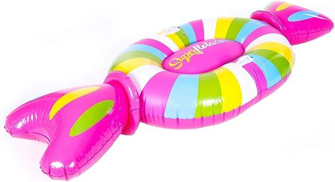 Superflotadores Colchoneta Hinchable Candy Caramelo ...