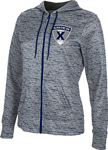 ProSphere Xavier University Women's Fullzip Hoodie - Brushed FAF62 - Fleece Fabric Xavier University