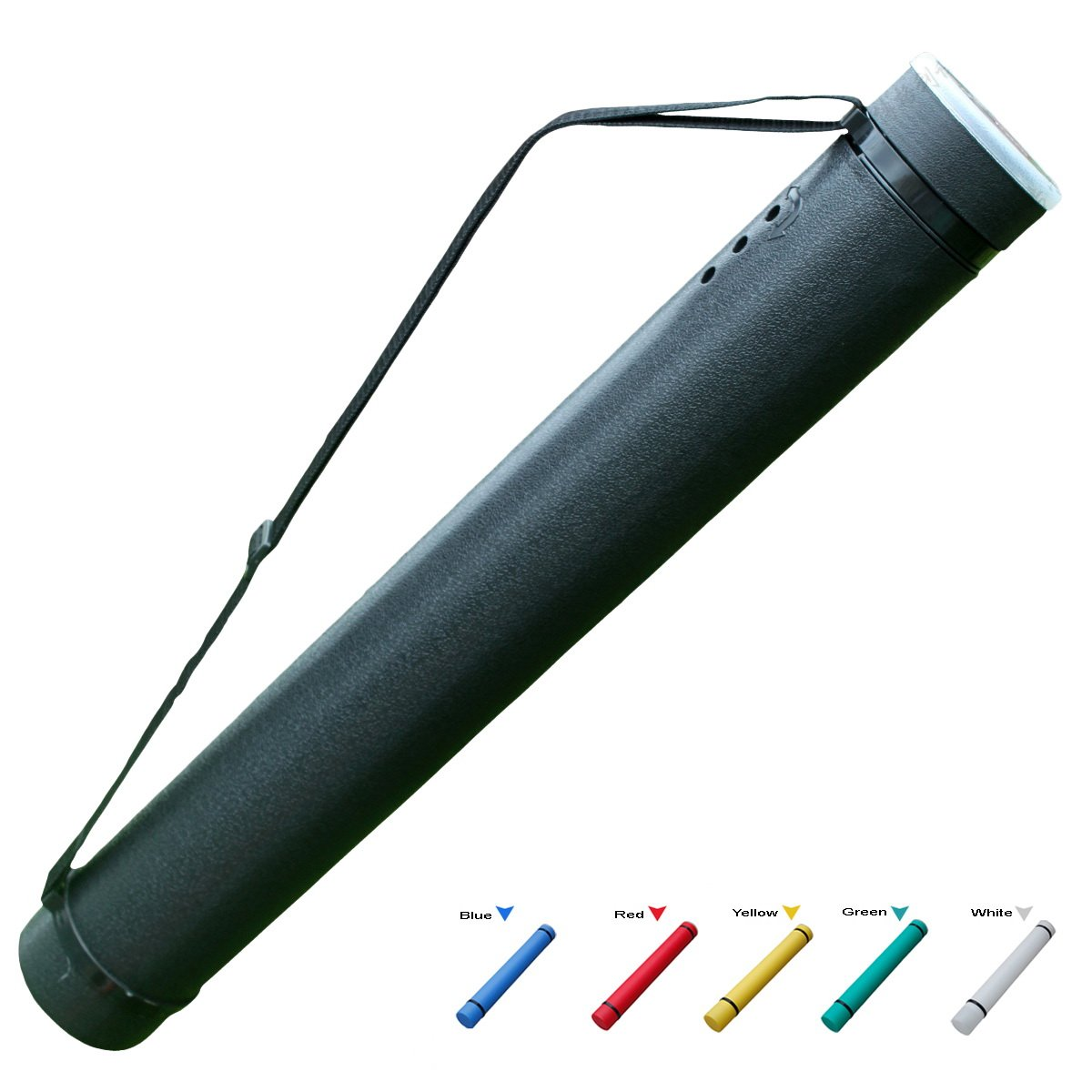 MailingArt Expanding Document Poster Tube 24.8 Inches up to 40 Inches - 3.5'' Diameter Water Light Resistant - Telescoping Posters, Artwork Drawings by MailingArt (Image #2)