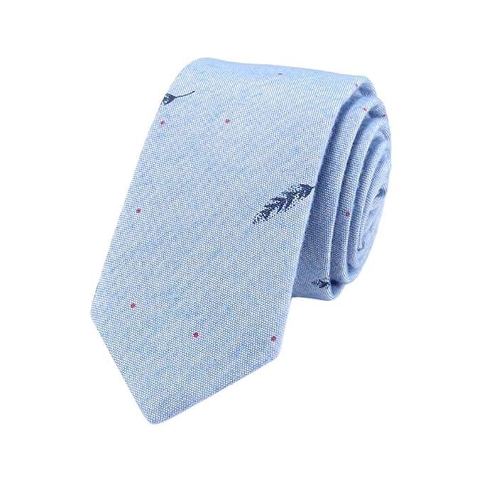JUNGEN Corbata de Informal para Hombres Corbata Estampada con ...