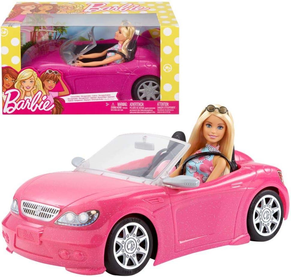 Barbie Muñeca y su coche descapotable (Mattel FPR57) , color/modelo surtido