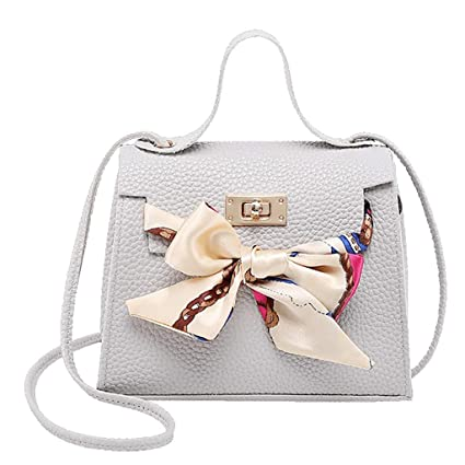 SMILEQ La Moda de señora Shoulders Bag Bolso de Cuero ...