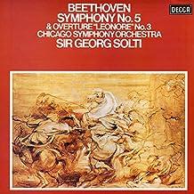 "Beethoven: Symphony No. 5; Overture ""Leonore"" No. 3"