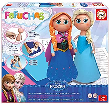 Educa Borrás Fofuchas - Set con diseño Elsa y Ana de Frozen 16456: Amazon.es: Juguetes y juegos