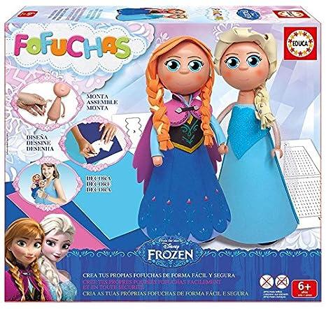 Amazon.es: Educa Borrás Fofuchas - Set con diseño Elsa y Ana de Frozen 16456: Juguetes y juegos