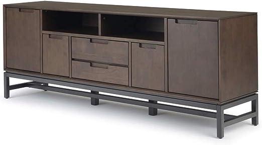 Muebles de madera y estilo de madera maciza de 72 pulgadas de ...