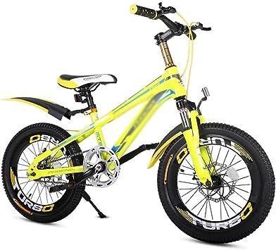 WJSW Bicicletas para niños Bicicleta de montaña para niños y niñas ...