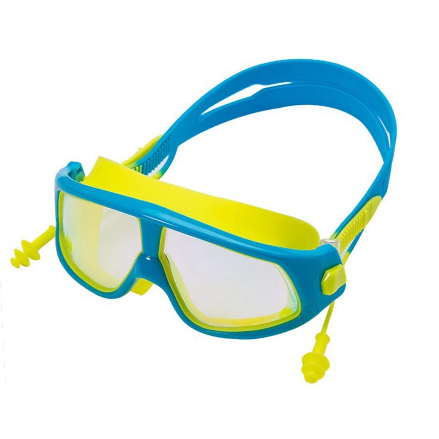 Kids Swim Goggles Mirrored Swimming Glasses for Children and Early Teens Kids Boys and Girls from 3 to 15 Years Old with Anti-Fog UV Protection Lenses