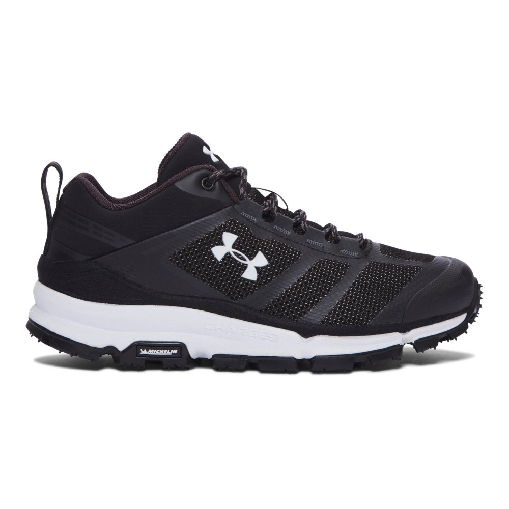 Under Armour Men's Verge Low Hiking Boot, Black (001)/Black, 7.5