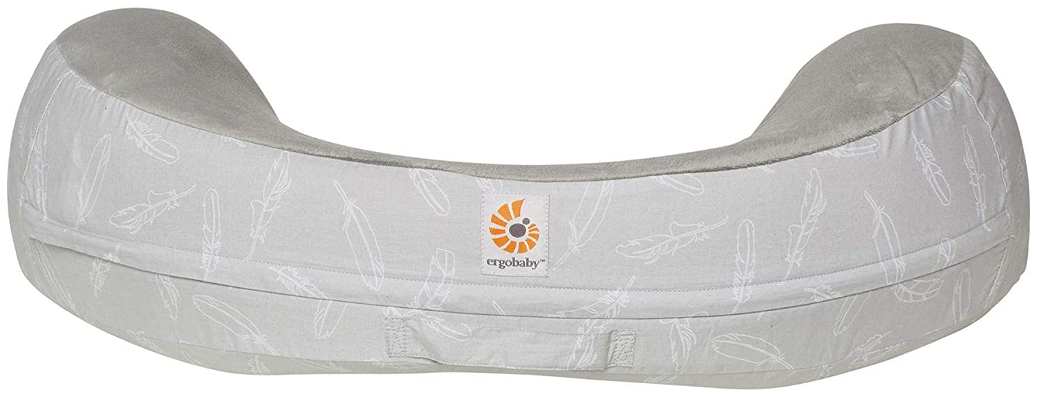 Ergobaby Natural Curve Nursing Pillow - Falling Feathers ...