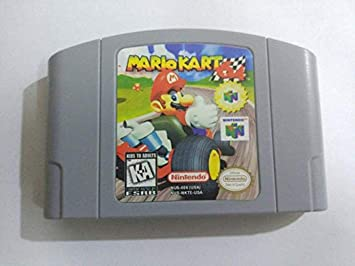 Amazon Com New For Nintendo N64 Mario Kart 64 Video Game