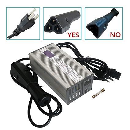 Amazon.com: Abakoo - Cargador de batería para carrito de ...
