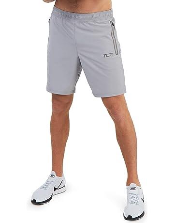 fd3b4da96406d6 TCA Elite Tech Herren Trainingsshorts für Laufsport mit  Reißverschlusstaschen