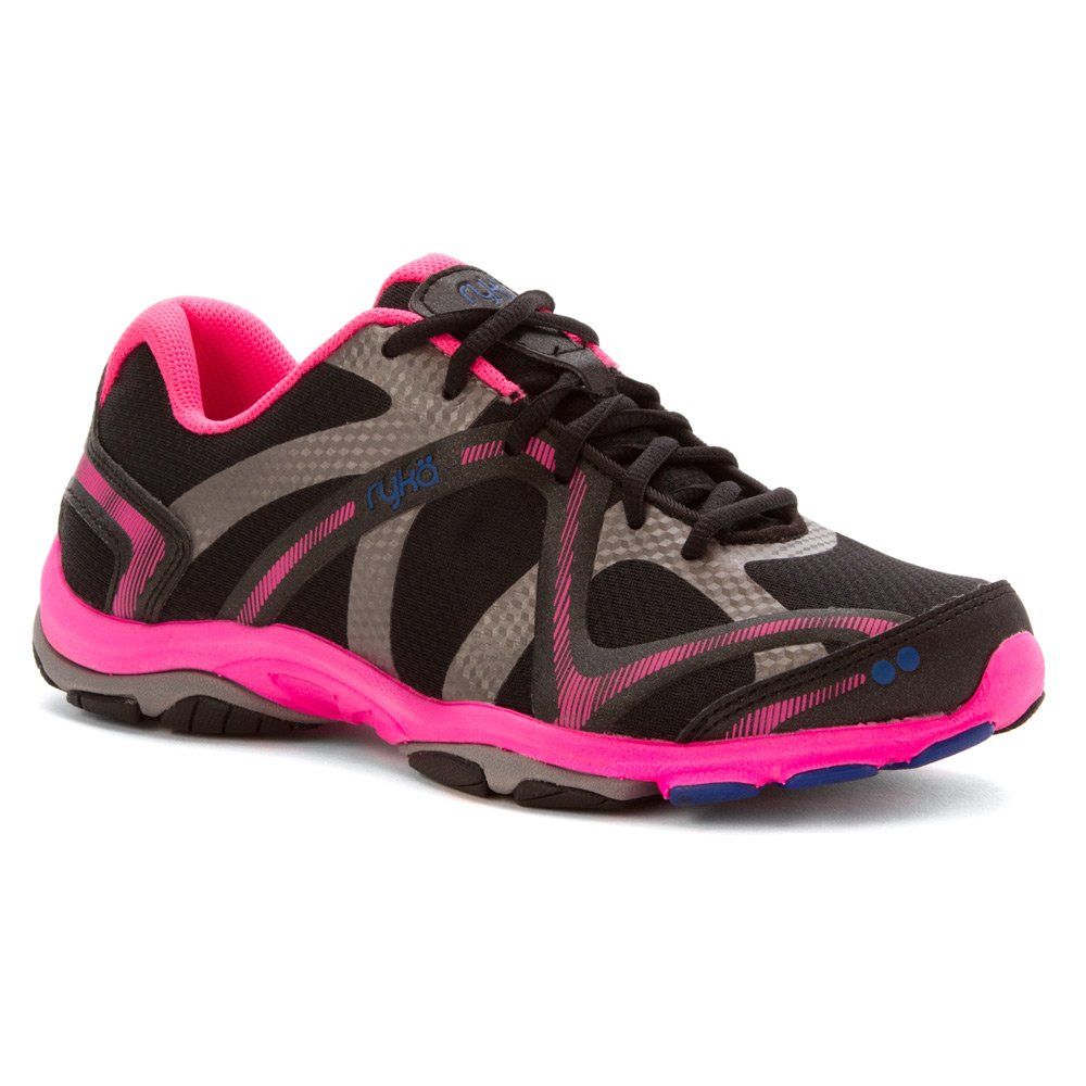 Ryka Women's Influence Cross Training Shoe B00L13FNQG 6.5 D US|Black/Pink