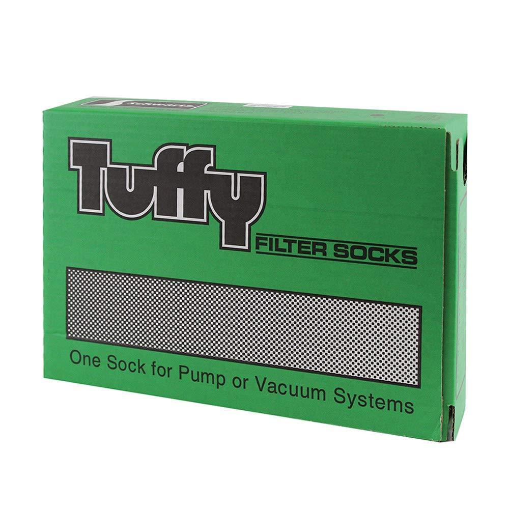 Schwartz Manufacturing Company Tuffy Filter Socks, 4 7/8 x 17in, 50 ct by Schwartz Manufacturing Company