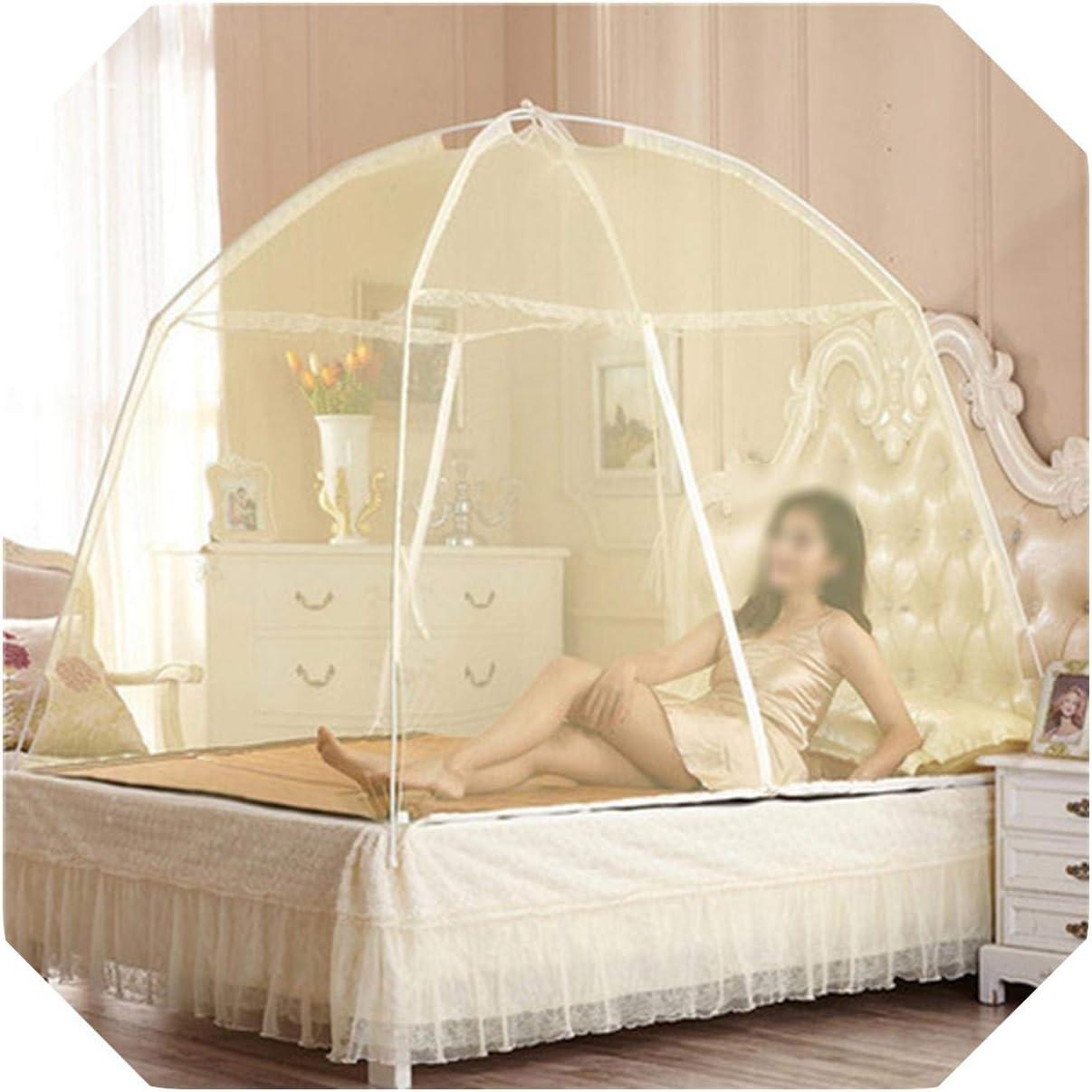 Eileen Ford Malla Mosquitera   Nuevo Verano Doble Puerta yurta mosquitera Plegable Anti Mosquitos Moda mosquitera 100x200cm / 120x200cm / 150x200cm / 180x200cm-rojo-60x120cm niño