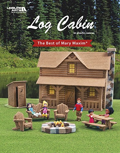 Leisure Arts Log Cabin Pattern Book (Adirondack Cabin Kit)
