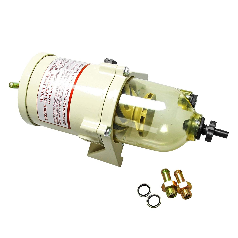 500FG 500FH Diesel Turbine Marine Boat Superior Fuel Filter//Water Separator Kit