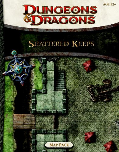 Shattered Keeps Map Pack: A Dungeons & Dragons Accessory (Dungeons And Dragons Maps)