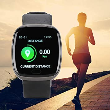 Kafuty Bluetooth 4.0 Smartwatch 1.22 Pulgadas TFT Color Pantalla ...