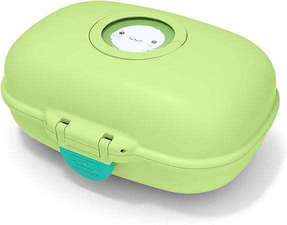 monbento - MB gram Verde Apple Caja merienda para niños - sin BPA - Segura y Duradera: Amazon.es: Hogar