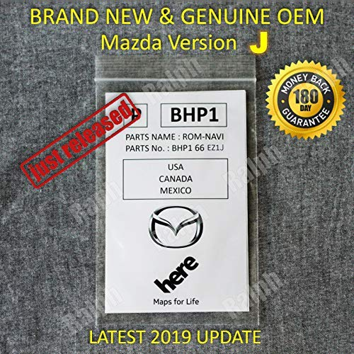 Latest 2019 Mazda SD Navigation Card BHP166EZ1J Mazda 3 6 CX-3 CX-5 CX-9