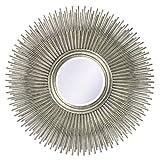 Howard Elliott 5138 Singapore Silver Leaf Mirror
