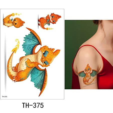 adgkitb 3 Piezas Etiqueta engomada del Tatuaje Temporal Lindo ...