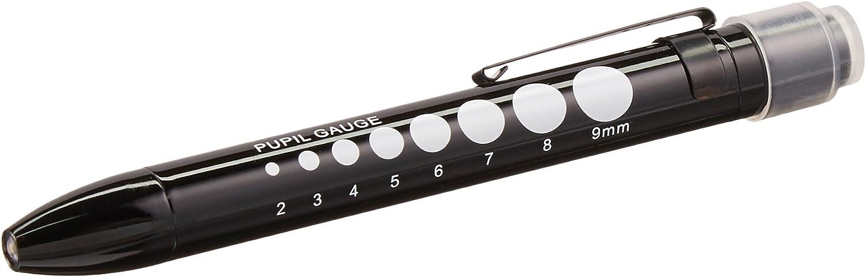 Black Prestige Medical 214-BLK Pupil Gauge Led Penlight