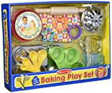 Melissa & Doug Baking Play Set (20 pcs) - Play Kitchen Accessories