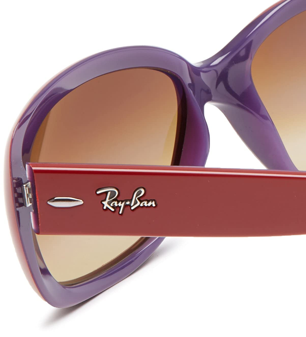 c9a38af1db Ray-Ban 4101 603885 Burgundy 4101 Jackie Ohh Square Sunglasses Lens  Category 3  Amazon.co.uk  Clothing