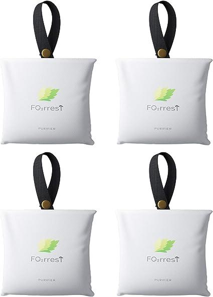 FO2RREST Bolsa Purificadora de Aire para Ambientadores de Aire para el Hogar,Desodorante de Aire de Silicio Activado Natural,Purificadores de Aire para el Hogar (150g * 4 Paquetes): Amazon.es: Hogar