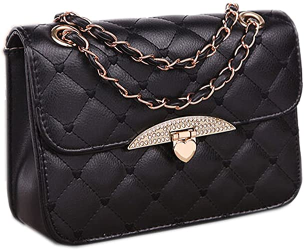 Women Ladies Designer Chain Tote Bag Quality Shoulder Clutch Evening Handbag
