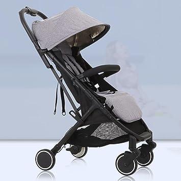 LANA Los carros de bebé Pueden Sentarse Horizontal Portable ...