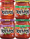 food salsa - Tostitos Salsa Dips Variety Pack, 4 Count